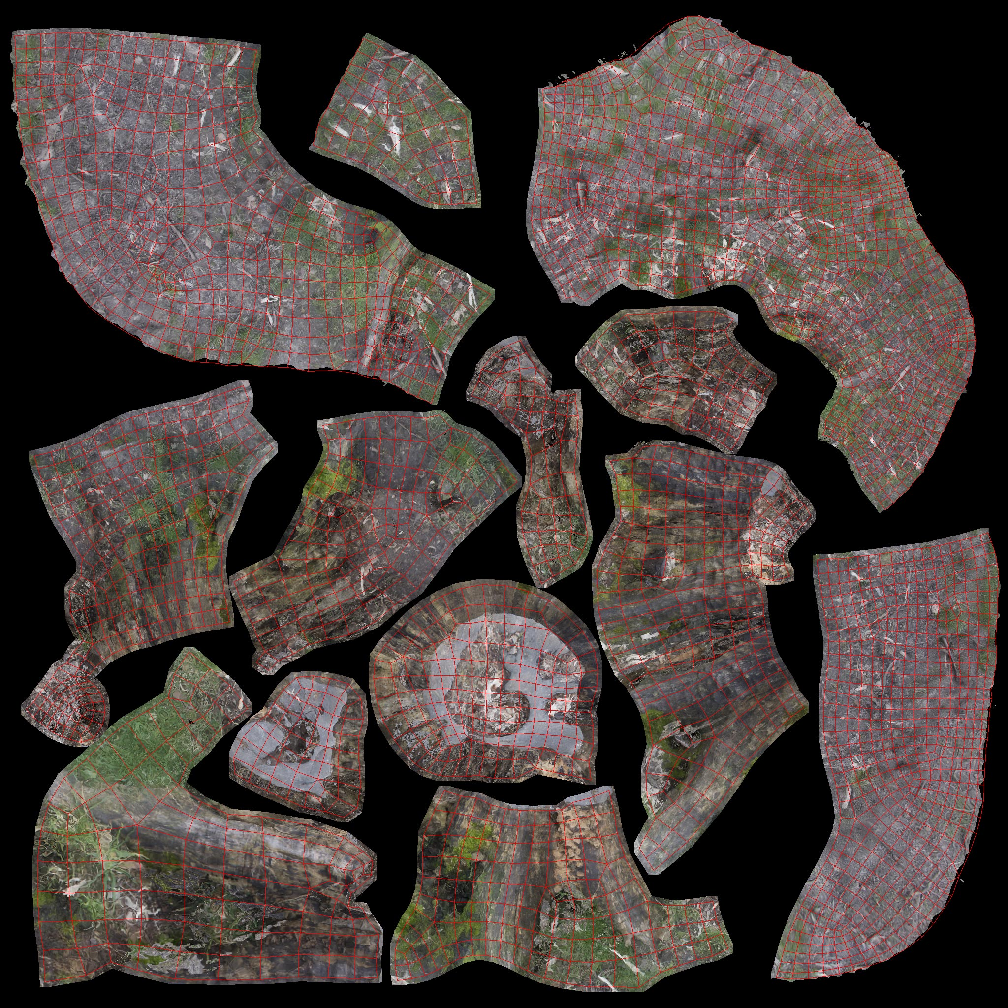 TALOS 3D Scan Store Tree Stump textures