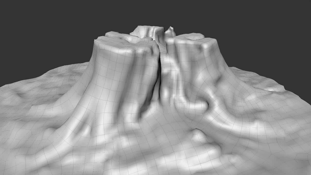 TALOS 3D Scan Store Tree Stump