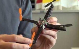 Origami Quadrotor Drone Design