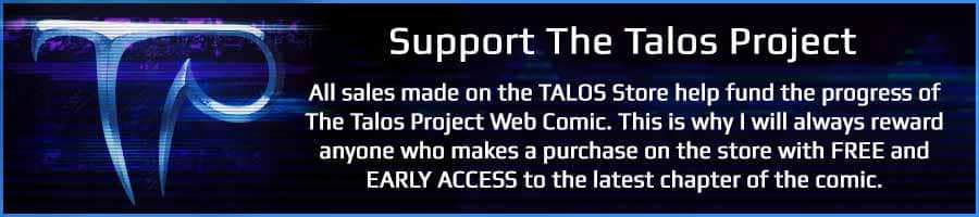 Support the Talos Web Comic