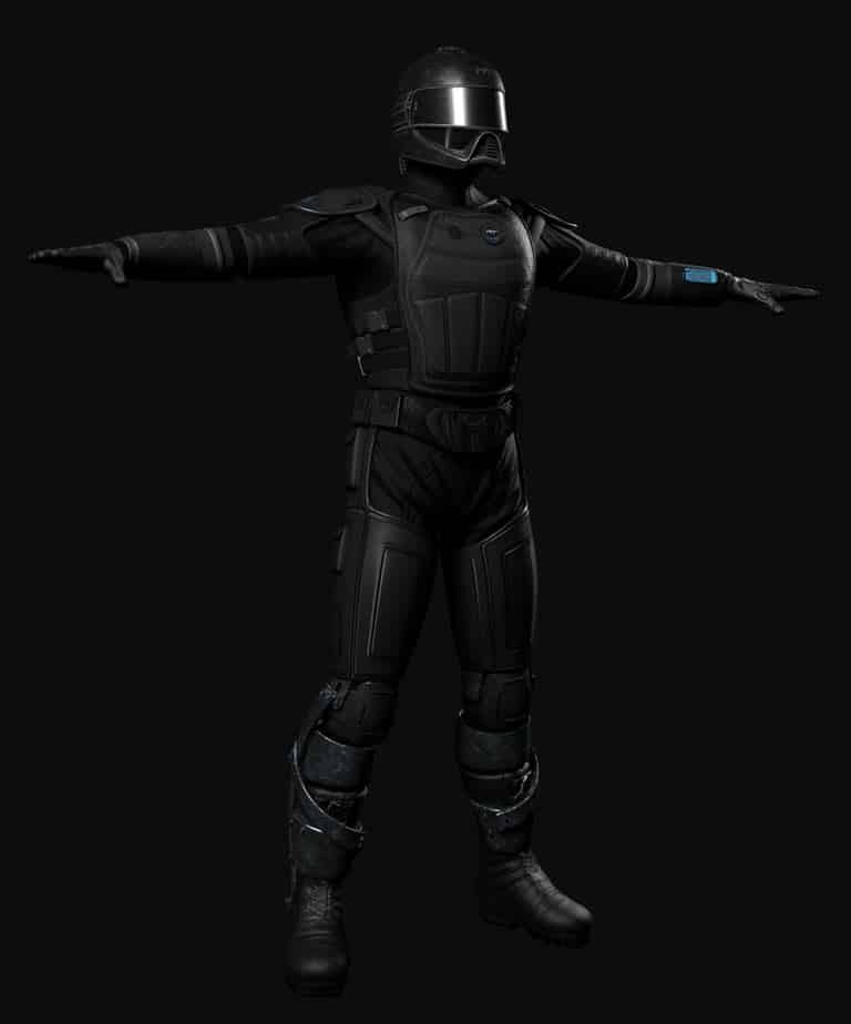 Talos Soldier 3d model update