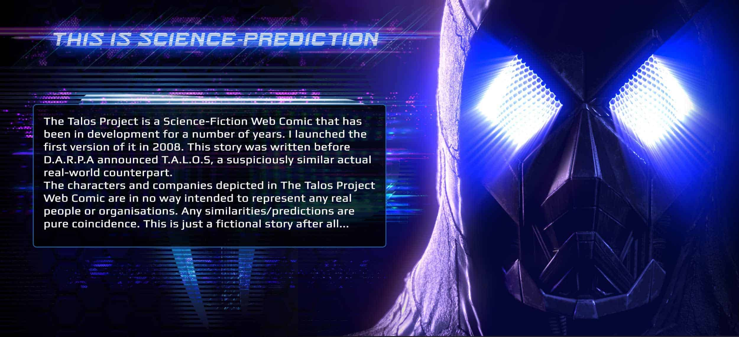 Talos Science Prediction