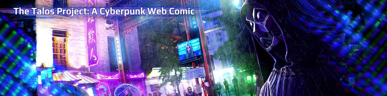 Cyberpunk Web Comic
