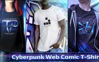 Cyberpunk Comic T-Shirts