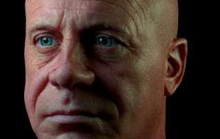 Gene 3D head Scan Skin Shader Test