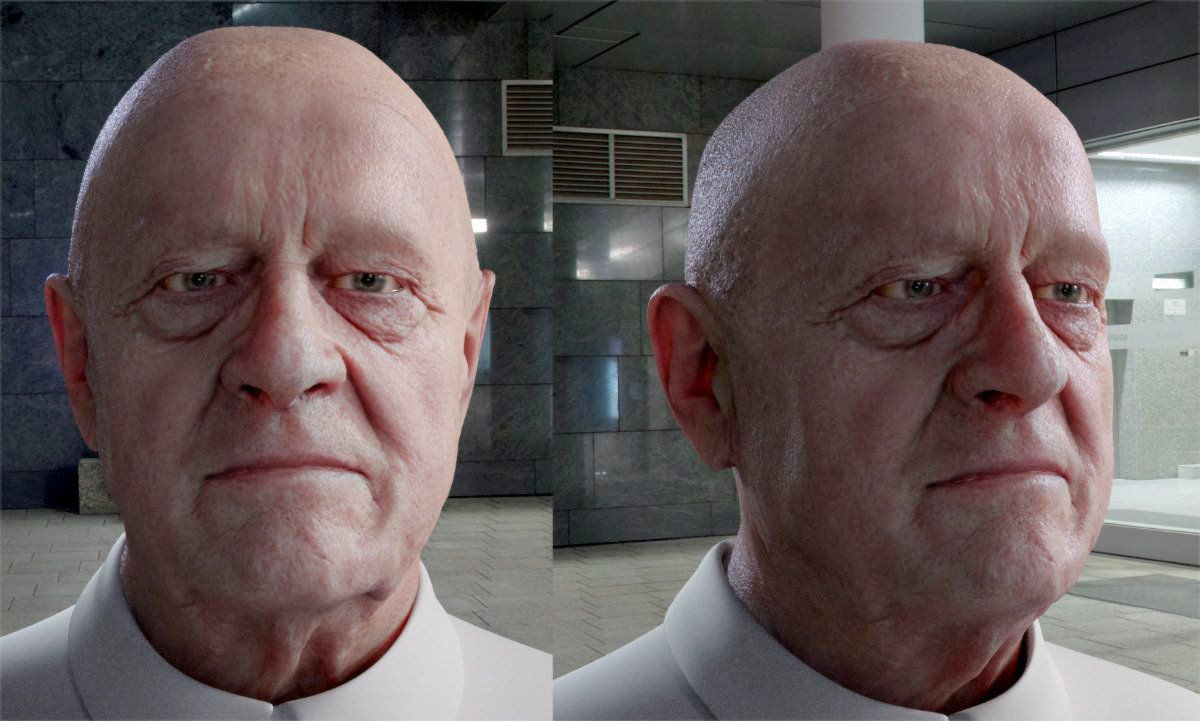 Redshift Skin Shading
