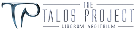 The Talos Project: Cyberpunk Web Comic Logo